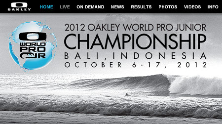 Oakley World Pro Junior 2012