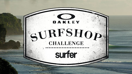 Oakley Surf Shop Challenge 2013