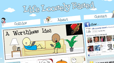 LifeLooselyBased.com Redesign 2.0
