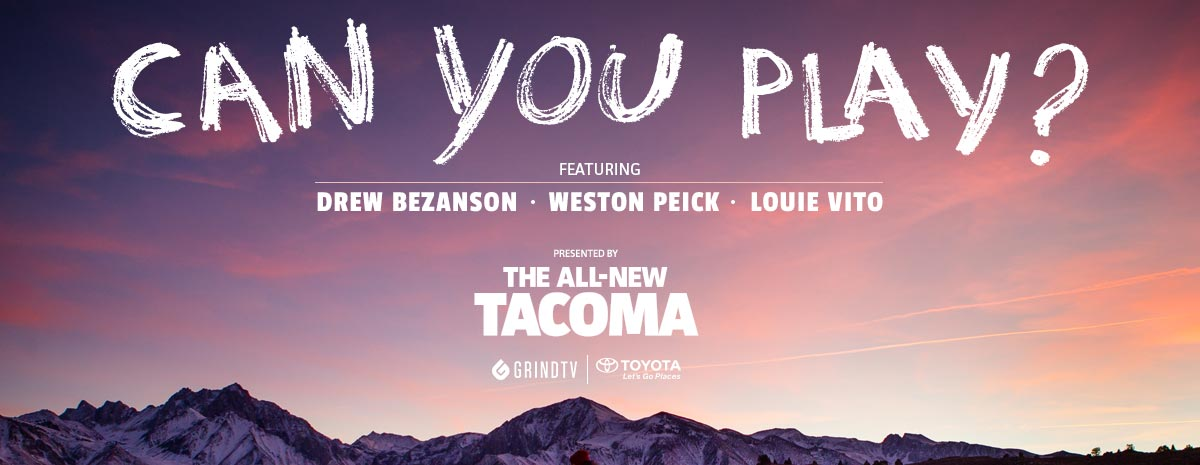 Toyota Tacoma: CAN YOU PLAY?