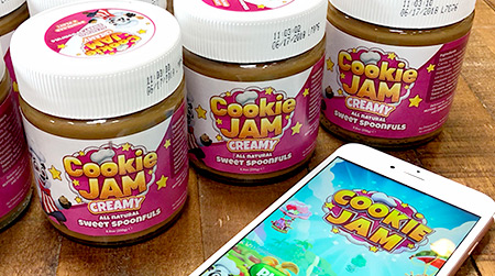 Cookie Butter Label Design