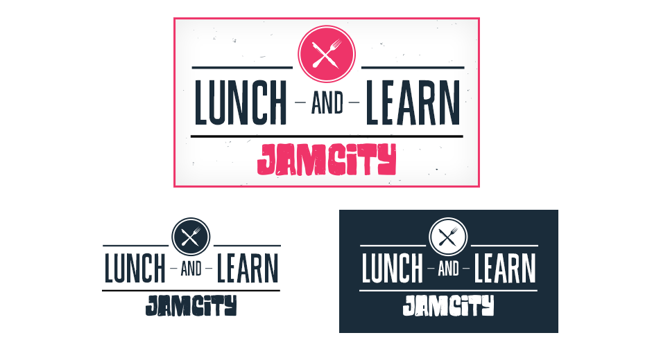 Lunch & Learn Logo Design