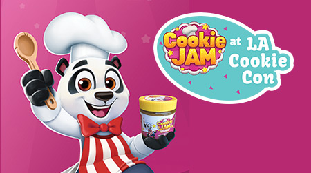 Cookie Jam at LA Cookie Con 2017