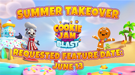 Cookie Jam Blast Feature Pitch