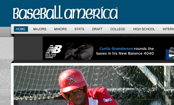 Baseball America Website Redesign 2013