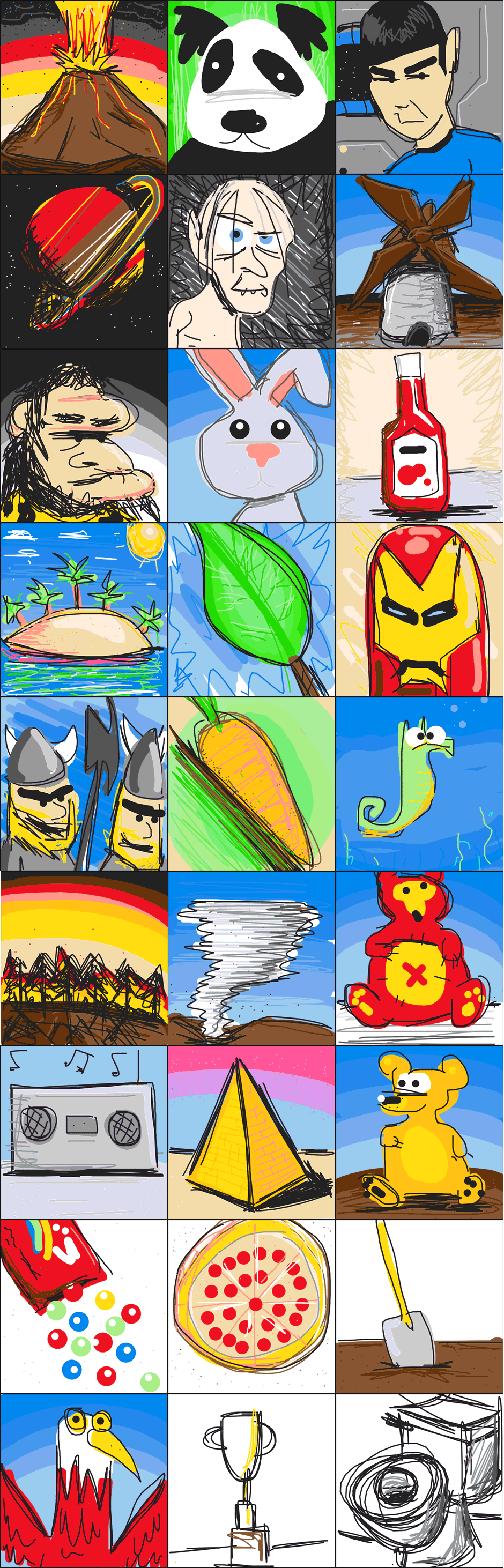 DrawSomething Artwork